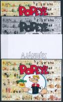 2014/05 Popey 4 db-os emlékív garnitúra (28.000)