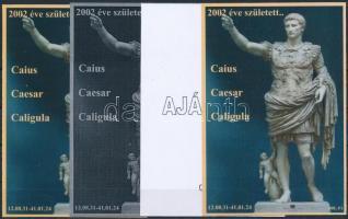 2014/10 Caesar 4 db-os emlékív garnitúra (28.000)