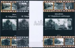 2014/11 II. Világháború 4 db-os emlékív garnitúra (28.000)
