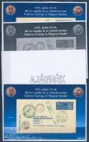 2011/21 Endresz - Magyar 4 db-os emlékív garnitúra (28.000)