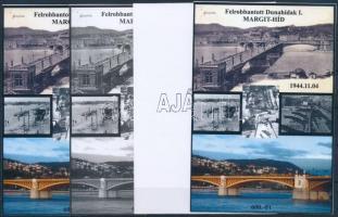 2015/01 Margit-híd 4 db-os emlékív garnitúra (28.000)