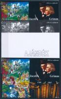 2015/02 Jacob Grimm 4 db-os emlékív garnitúra (28.000)