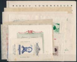 1938-1955 13 db blokk (rozsdafoltok) (80.800)