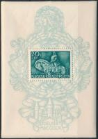 1940 9 db Mátyás király blokk (10.800)