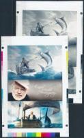 2016/11 Hemingway cromalin emlékívpár garancia bélyegzéssel (120.000)
