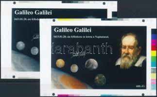 2016 Galilei cromalin emlékívpár garancia bélyegzéssel (120.000)