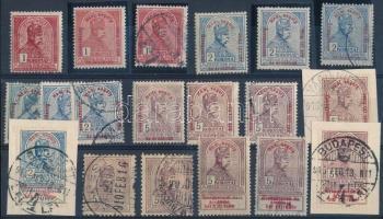 1900-1915 Turul záró értékek stecklapon (76.000)