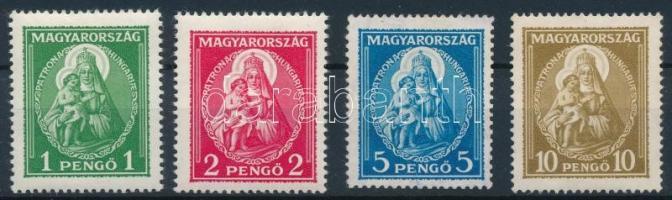 1932 Nagy Madonna sor, 5P és 10P gumi néllkül