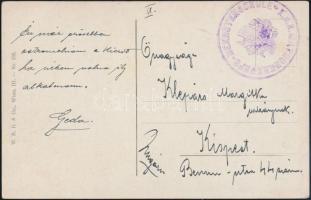 """Postcard """"K.U.K. MATROSENKORPS -REKRUTENSCHULE"""", Képeslap """"K.U.K. MATROSENKORPS -REKRUTENSCHULE"""""""