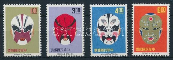 The masks of the Chinese opera, A kínai opera maszkjai