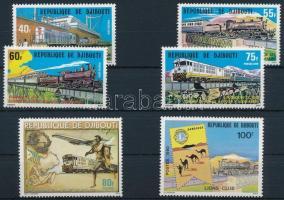 Train 6 stamps, Vonat motívum 6 klf bélyeg