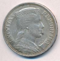 Lettország 1931. 5L Ag T:2 patina Latvia 1931. 5 Lati Ag C:XF patina  Krause KM# 9