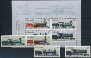 Railway set + block, Vasút sor + blokk
