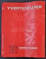 Yvert Európa C-H katalógus 2012 (benne Magyarország)