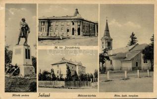 Szikszó kórház és katonai emlékmű