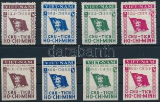 ~1950 Ho Chi Minh fogazott és vágott sor