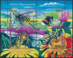 Bees and wasps block, Méhek és darazsak blokk