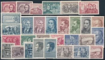 1948-1950 30 stamps, 1948-1950 30 klf bélyeg