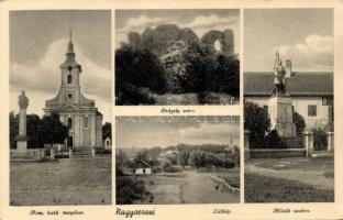 Nagyoroszi, Hősök szobra, Római katolikus templom, Drégely vára,