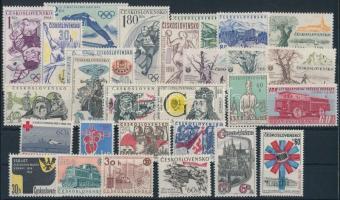 1964 28 klf bélyeg, csaknem a teljes évfolyam kiadásai