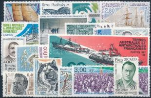 1992-1998 16 stamps + 1 set, 1992-1998 16 klf önálló érték + 1 sor