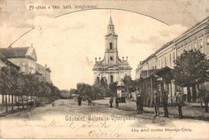 Sátoraljaújhely, Fő utca, Római katolikus templom