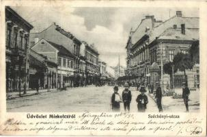 Miskolc, Széchenyi utca, Schweitzer üzlete