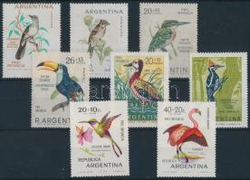 1962-1970 4 diff bird set, 1962-1970 4 klf madár sor