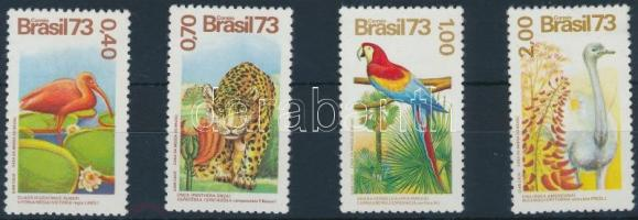 1973 Madár sor Mi 1415-1418
