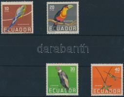 1958 Madár sor Mi 956-959