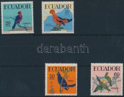 1958 Madár sor Mi 981-984