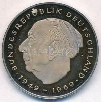 NSZK 1987D 2M Cu-Ni Theodor Heuss T:1(PP) FRG 1987D 2 Mark Cu-Ni Theodor Heuss C:UNC(PP) Krause KM#A127
