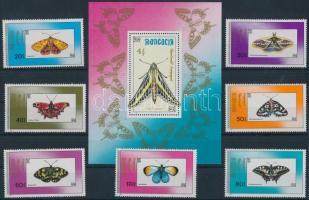 Butterfly set + block Lepke sor + blokk