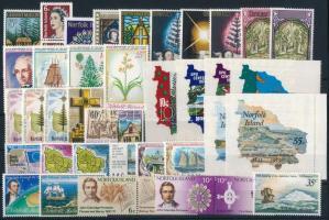 1970-1975 38 db klf bélyeg, közte teljes sorok, párok, öntapadós értékek 1970-1975 38 stamps