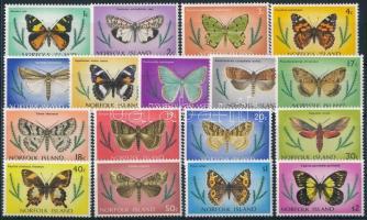 Lepkék sor Butterfly set