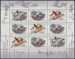 Ducks and geese mini sheet Kacsák és libák kisív