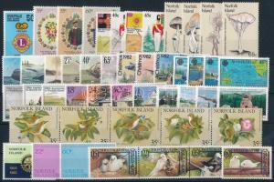 1980-1983 48 stamps 1980-1983 48 db klf bélyeg, közte teljes sorok és összefüggések