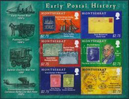 Post History minisheet, Postatörténet kisív