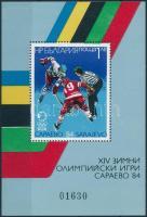 1984 Téli olimpia blokk Mi 140