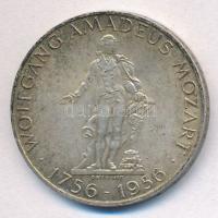 Ausztria 1956. 25Sch Ag Mozart T:2 Austria 1956. 25 Schilling Ag Mozart C:XF Krause KM#2881