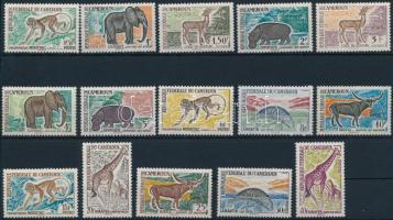 Forgalmi, állatvilág sor Definitive, fauna set