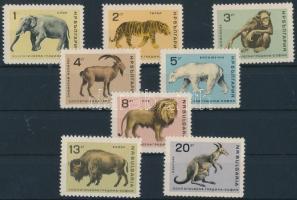 1966 Szófiai Állatkert sor Mi 1618-1625