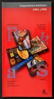 Telefonkártya katalógus 1991-1998. Új állapotban