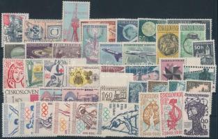 10 klf sor + 8 klf önálló érték, 10 set + 8 stamps