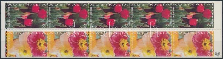 Greeting stamps stamp-booklet, Üdvözlőbélyeg bélyegfüzet