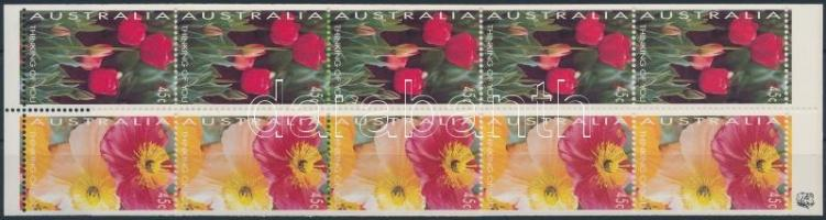 Greeting stamps stamp-booklet Üdvözlőbélyeg bélyegfüzet