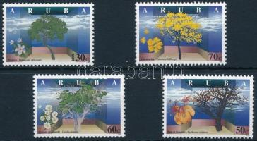 Flowering trees set Virágzó fák sor