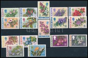 Definitive: Flower set without closing value Virágok záróérték nélküli sor