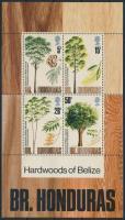 Trees block, Haszonfák blokk