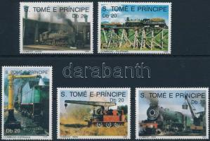 1989 Mozdonyok sor Mi 1136-1140